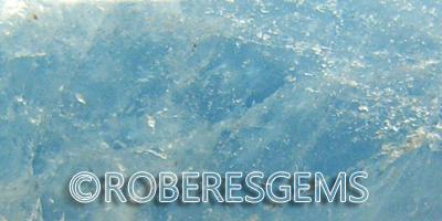 Aguamarina Berilo cristal RoberesGems