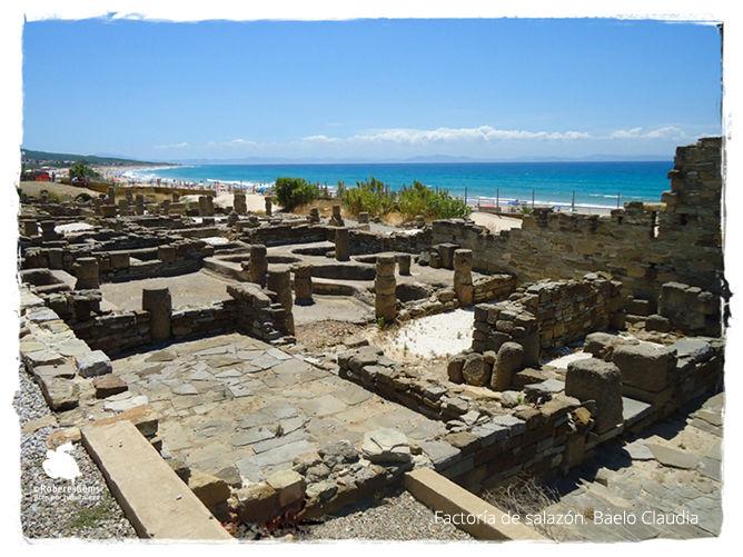 Ciudad romana Baelo Claudia. Tarifa.