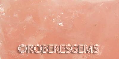 Cuarzo rosa cristal RoberesGems