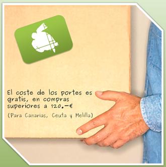 Portes gratis Canarias, Ceuta y Melilla