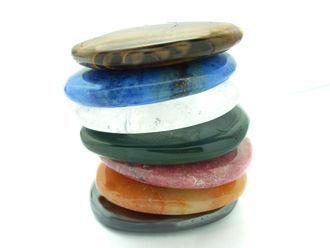 Piedras naturales para equilibrar los chakras.