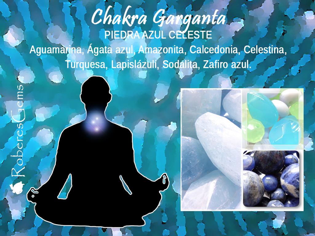 Piedra Azul. Chakra Garganta.