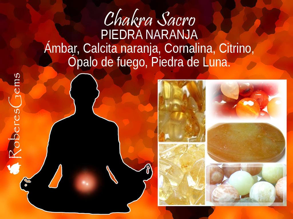 Piedra Naranja. Chakra Sacro.